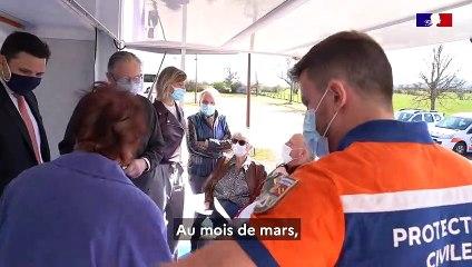 Le vaccinobus de la préfecture de la Côte-d'Or