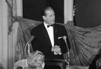 21 décembre 1966, le discours plein d'humour du Prince Philip à l'Elysée