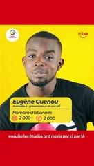Eugène Guenou se dévoile comme jamais dans l'émission Inbox de Togocom