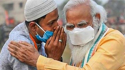 PM Modi's viral pic with Zulfiqar sparks politics