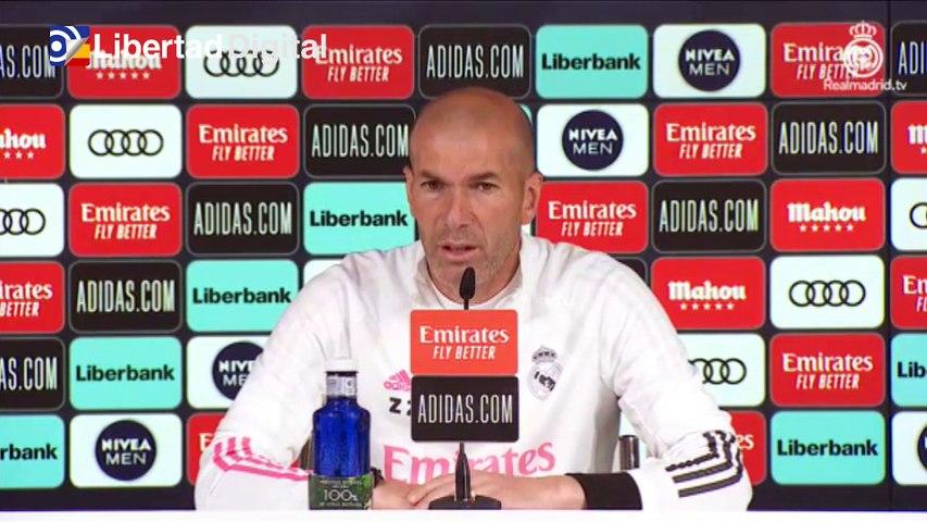 """Zidane sobre Messi: """"Que se quede en el Barcelona, que está bien ahí"""""""