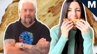 Guy Fieri gave us a grilled cheese tutorial over Zoom