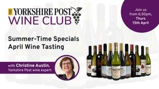 WINE TASTING LIVE: Yorkshire Post Wine Club April offer