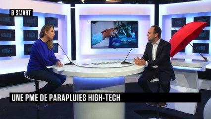 BE SMART - L'interview de Charles Yvon (le parapluie de Cherbourg) par Aurélie Planeix