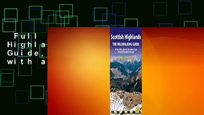 Full version  Scottish Highlands - The Hillwalking Guide, 2nd: 60 day-walks with accommodation