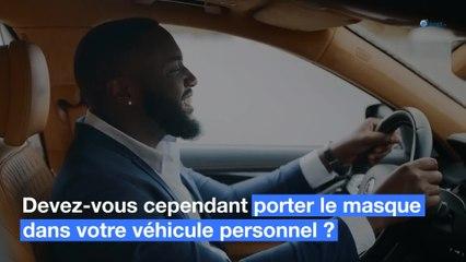 Auto : Faut il porter le masque dans sa voiture ?