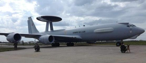 Quatre avions Awacs arrivent à l'aéroport de Châteauroux