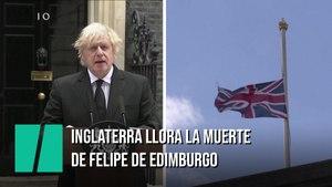 Inglaterra llora la muerte de Felipe de Edimburgo