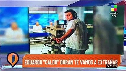 Rodrigo Lussich y Adrián Pallares despidieron a un compañero de trabajo que falleció repentinamente