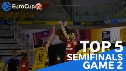 Semifinals Game 2 Top 5 Plays