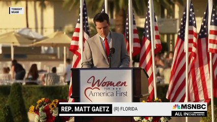 Gaetz Vows He Is 'Not Going Anywhere' At Pro-Trump Event