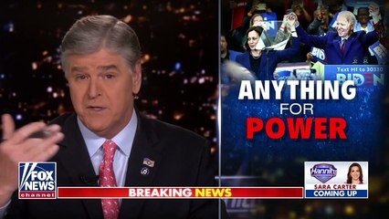 Hannity sounds off on Democrats' attempt to pack Supreme Court
