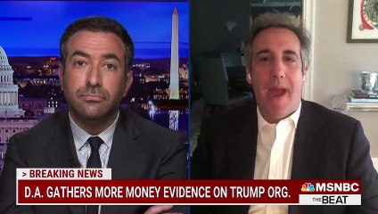 Trump Going Down NY DA's Key Witness Cohen Says Trump's In Big Trouble