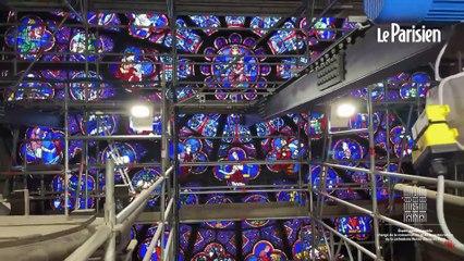 Revoir notre  direct depuis le chantier de Notre-Dame de Paris