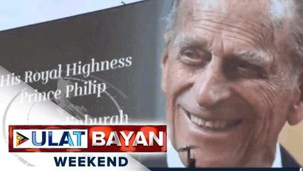 World leaders, nagpaabot ng pakikiramay sa Royal Family sa pagpanaw ni Prince Philip;   Palasyo: Pres. Duterte, nakikiramay din sa Royal Family at British Community