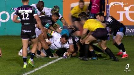 Bath Rugby v London Irish: quarter-final highlights