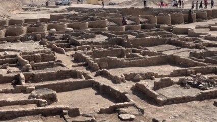 Une ville antique vieille de 3000 ans exhumée en Egypte