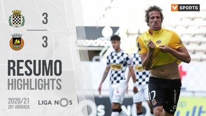 Highlights: Boavista 3-3 Rio Ave (Liga 20/21 #26)