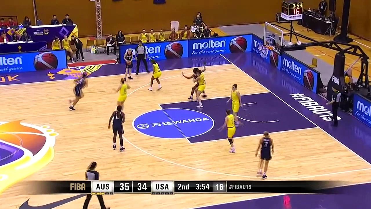 Australia V Usa Highlights W/ Bueckers Mvp Performance – Fiba U19 Women'S Basketball World Cup 2019