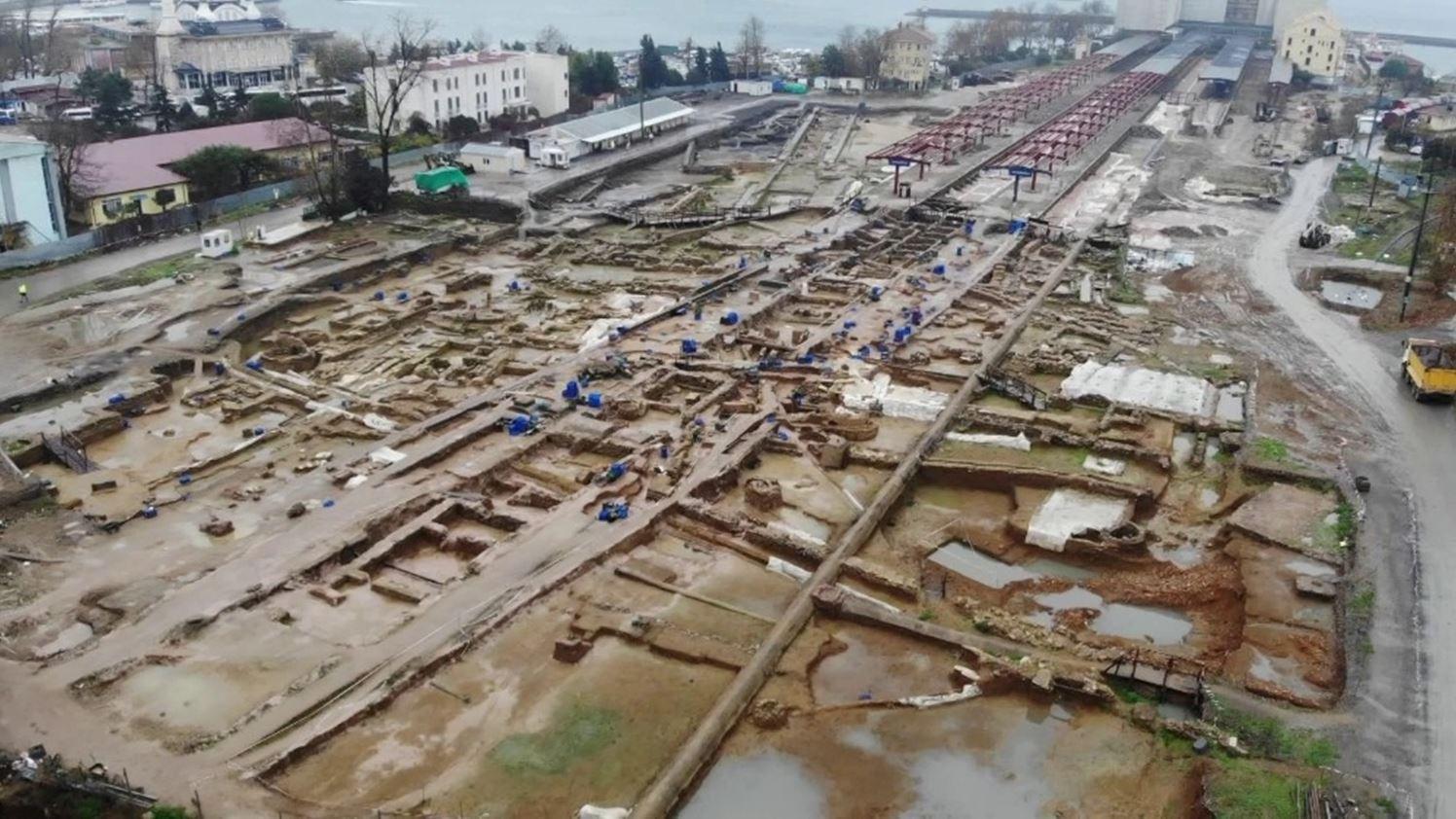 İBB: Haydarpaşa'daki kazılarda Helenistik Dönem'den Osmanlıya kadar çeşitli buluntulara rastlandı