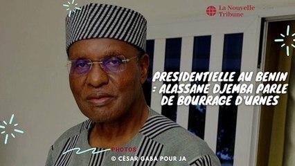 Présidentielle au Bénin : le candidat Alassane Djemba parle déjà de bourrage d'urnes