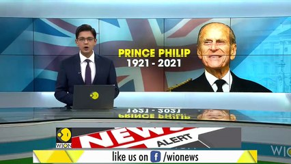 News Alert - Gun salute to honour Duke of Edinburgh _ Prince Philip _ Latest English News _ WION News