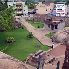 The Thirumayam Fort Of Pudukkottai, Tamil Nadu