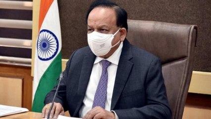 Harsh Vardhan: I wear masks even inside the house