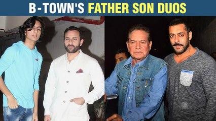 Salman - Salim. Saif- Ibrahim- Taimur | Bollywood's Best Father Son Moments