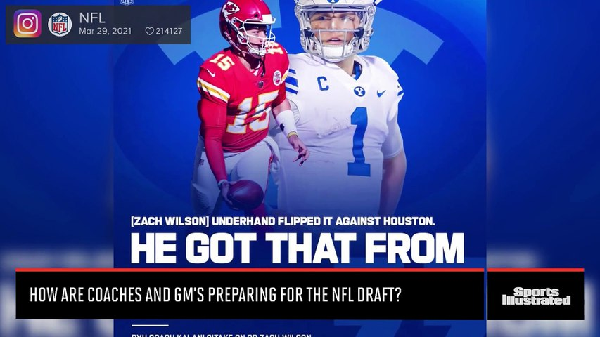 Jim Mora on How NFL Teams Prepare for the Draft