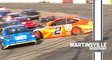 Daniel Suarez gets loose, cleans out Keselowski late at Martinsville