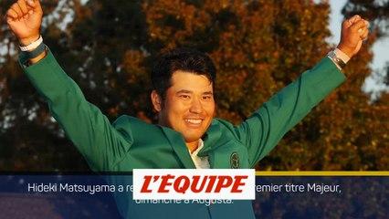 Hideki Matsuyama remporte le 85e Masters - Golf - Masters