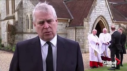 """Britain has lost """"the grandfather of the nation,"""" Prince Andrew says"""
