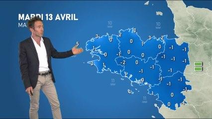 Illustration de l'actualité Bulletin météo pour votre mardi 13 avril