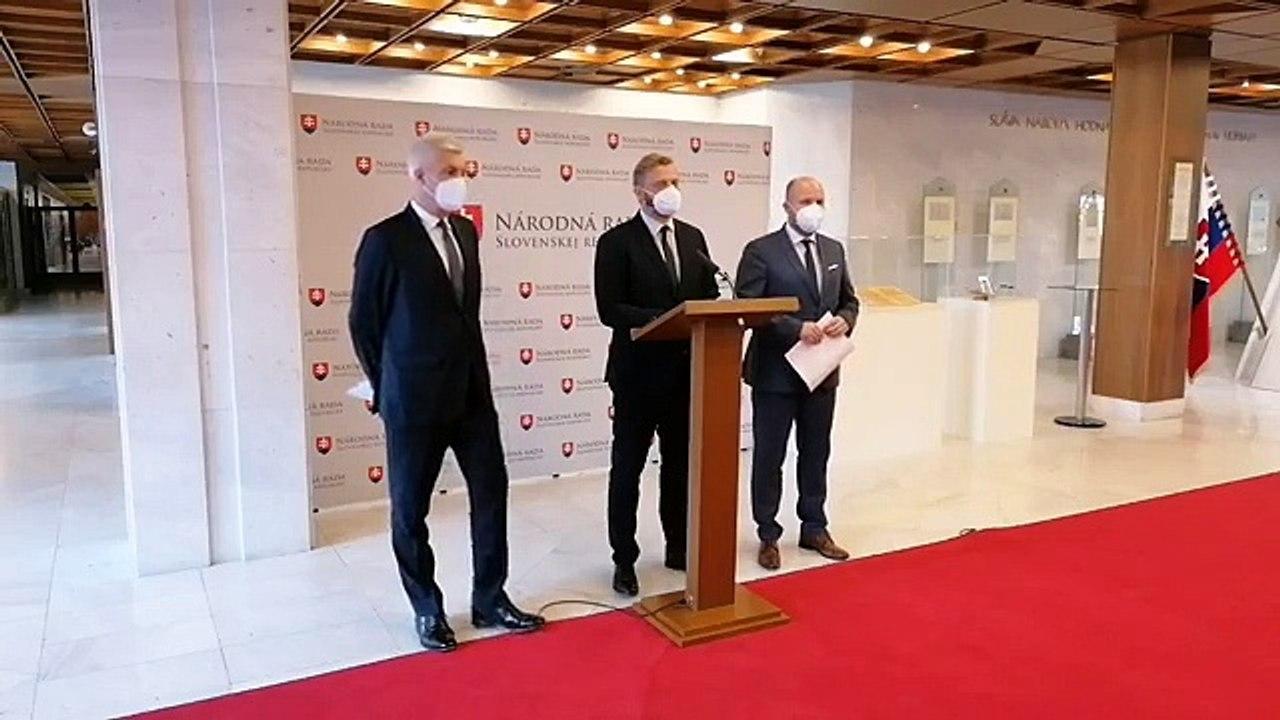 ZÁZNAM: TK ministra zahraničných vecí I. Korčoka a ministra obrany J. Naďa