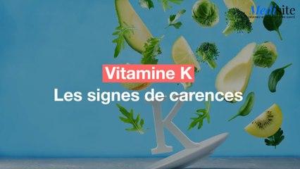 Vitamine K : les signes de carence à repérer