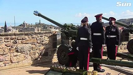 41 gun salutes held across the UK to mark the death of Prince Phillip