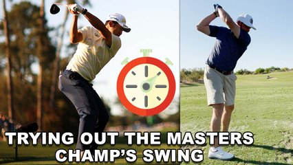 Will Hideki's Backswing Pause Fix My Swing?