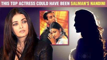 Aishwarya Rai REPLACED A Top Actress In Salman Khan's Hum Dil De Chuke Sanam