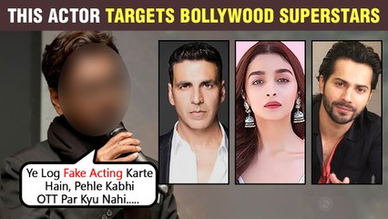 This Famous Actor Calls Bollywood Surperstars FAKE | Questions About Them Switching To OTT