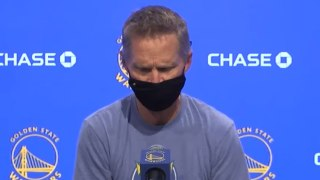 Steve Kerr Reacts to Daunte Wright Shooting