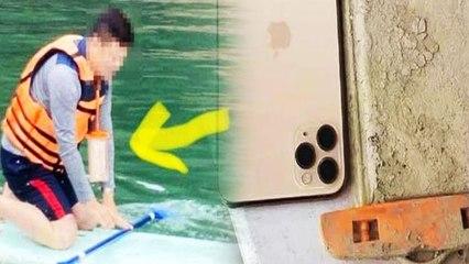 तैराकी के वक्त पानी में गिरा शख्स का iPhone, साल भर बाद फोन की कंडीशन देख उड़े सबके होश!