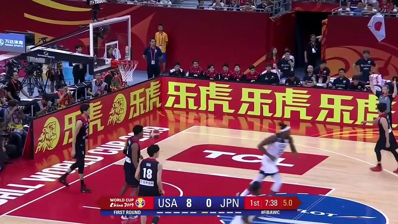 Usa V Japan – Highlights – Fiba Basketball World Cup 2019