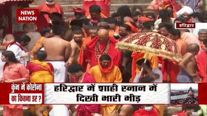 Lakhs take dip in Ganga amid rising coronavirus cases in India