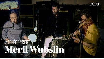 """Meril Wubslin chante Michel Legris - """"Elida"""" (téléconcert exclusif pour """"l'Obs"""")"""