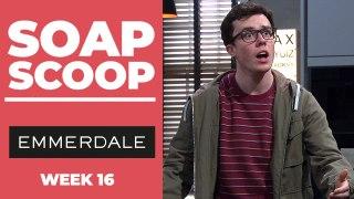 Emmerdale Soap Scoop! Vinny gambles with Paul's tips