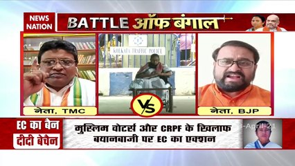 Battle Of Bengal : Bapa Chatterjee gets angry at TMC, Watch Excursive
