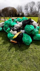 Chesterfield Litter Picking Group collect 100 bags in two hours