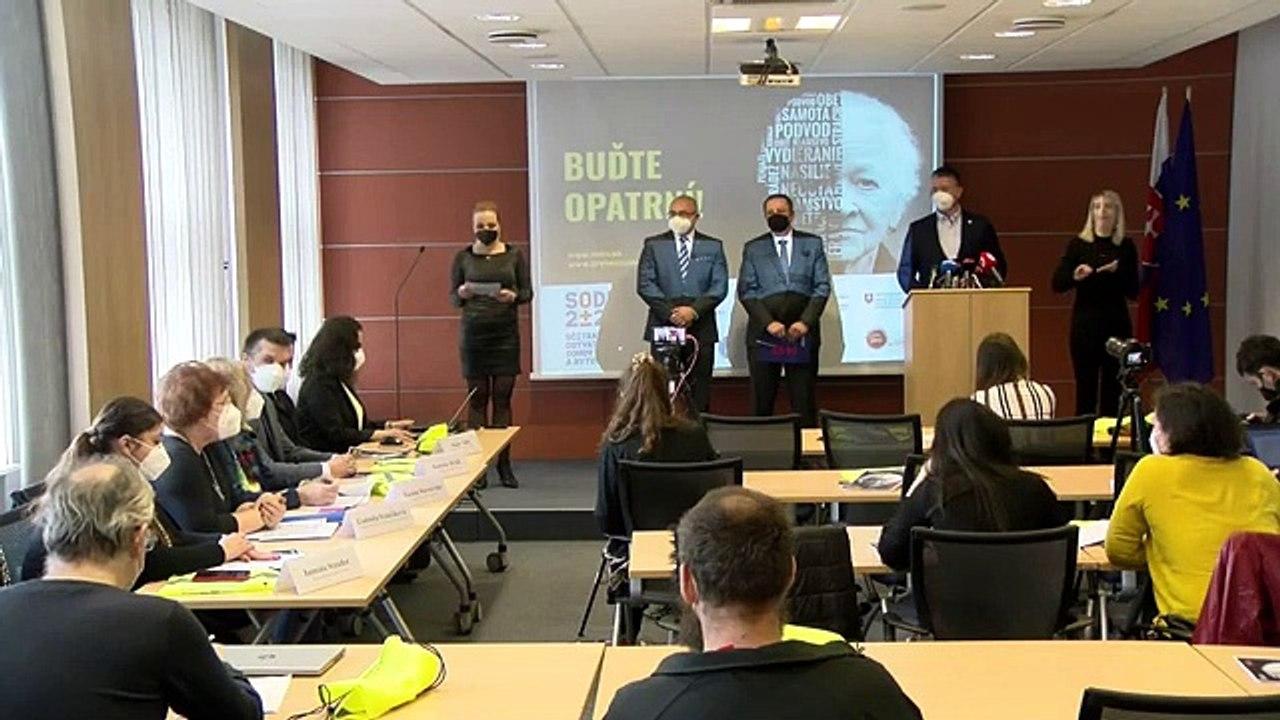 ZÁZNAM: TK ministra vnútra SR Romana Mikulca a predsedu Štatistického úradu  SR Alexandra Balleka