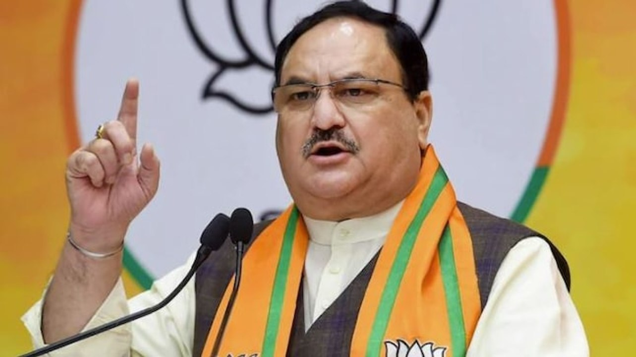 Bengal elections: BJP president JP Nadda holds roadshow in Bardhaman -  video Dailymotion